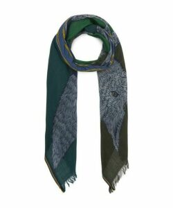 Soto Jumping Fox Wool Scarf