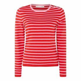 Oui Rose T-Shirt Ld93
