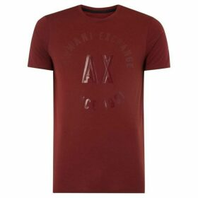 Armani Exchange Circle logo T-Shirt