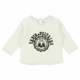 Zadig and Voltaire Baby Long Sleeved White T-Shirt