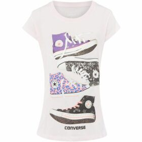 Converse Stacked Chucks Graphic T-Shirt