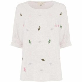 Phase Eight Laurella Leaf T-Shirt