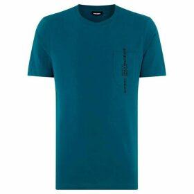 Diesel Vertical Pocket Logo T-Shirt