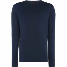 Michael Kors Sleek Long Sleeve Crew Neck T-Shirt