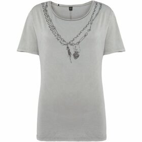 Replay Scoop-neck T-shirt
