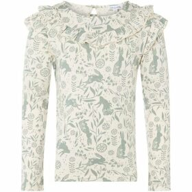 Rose and Wilde Rabbit Floral Long Sleeve T-Shirt