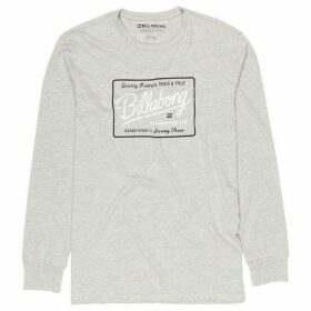 Billabong Vintage Style Logo Long Sleeve T-Shirt
