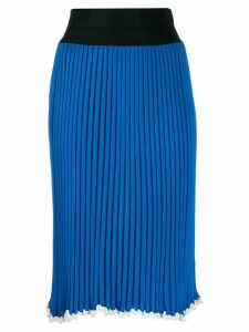 Céline Pre-Owned 2000s knitted skirt - Blue