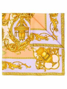Versace Pre-Owned 1990s printed scarf - Gold