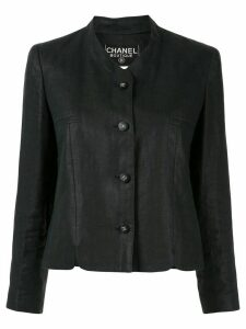 Chanel Pre-Owned 1996 long-sleeve jacket - Black