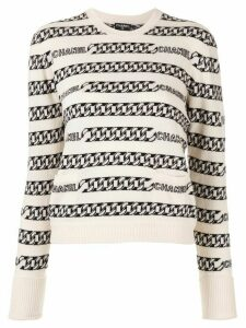 Chanel Pre-Owned Long Sleeve Knit Tops - Neutrals