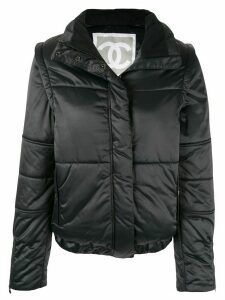 Chanel Pre-Owned Sports Line padded jacket - Black