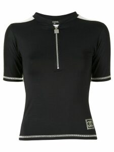 Chanel Pre-Owned Sports Line T-shirt - Black