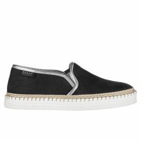Hogan Leather Slip On Sneakers R260