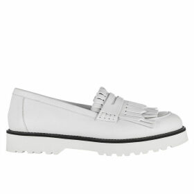 Hogan Leather Loafers Moccasins H259