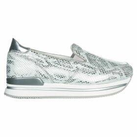 Hogan Leather Slip On Sneakers H222