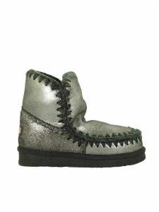 Mou Eskimo 18 Black Glitter Boot