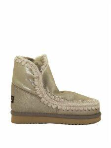 Mou Eskimo 18 Grey Glitter Boot