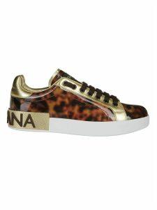 Dolce & Gabbana Portofino Tortoise Sneakers