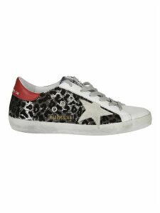Golden Goose Superstar Leopard Print Sneakers