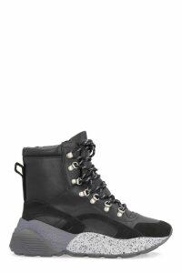 Stella McCartney Eclypse Faux Leather High-top Sneakers