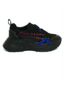 Philosophy di Lorenzo Serafini Black Logo Print Sneakers