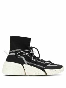 Kenzo K-Sock high-top sneakers - Black