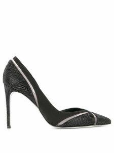 René Caovilla pointed toe pumps - Black