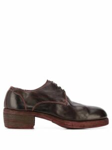Guidi 792Z Derby shoes - Red