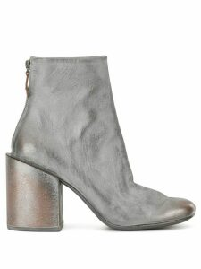 Marsèll chunky heel ankle boots - Silver