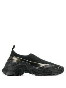 Nº21 Running slip-on sneakers - Black
