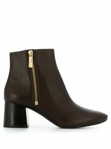 Michael Kors Collection Alane zipped ankle boots - PURPLE