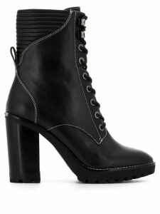 Michael Kors Collection Bastian lace-up boots - Black