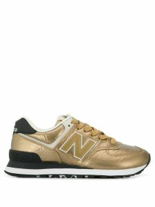 New Balance 574 low-top sneakers - GOLD