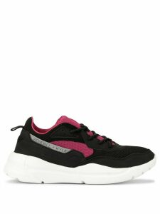Kendall+Kylie bi-coloured panelled sneakers - Black