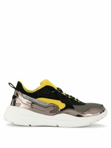 Kendall+Kylie colour block panelled sneakers - Yellow