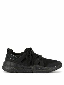 Kendall+Kylie panelled speckled sole sneakers - Black