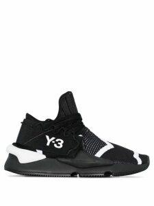 Y-3 Kaiwa knit sneakers - Black