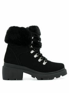 Kendall+Kylie Roan faux-fur ankle boots - Black