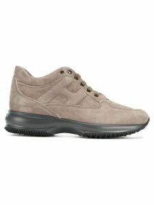 Hogan lace up trainers - NEUTRALS