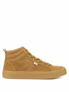 Cariuma OCA high suede all camel sneakers - Brown