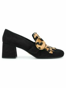 Prada fringed loafers - Black