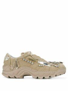 Rombaut x Dilara Findikoglu embellished sneakers - Neutrals