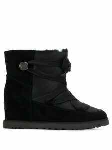 Ugg Australia lace-up wedged boots - Black