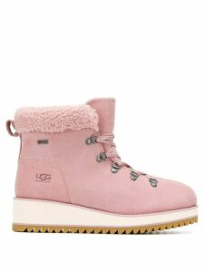Ugg Australia shearling mountain boots - Pink