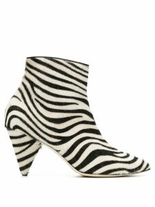 Polly Plume Patsy pointed boots - Neutrals
