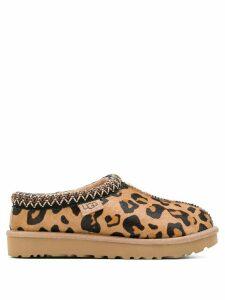 Ugg Australia leopard print slippers - Neutrals