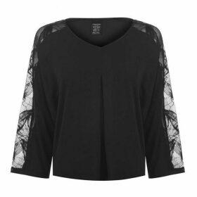 Calvin Klein Quarter Petal Lace T Shirt