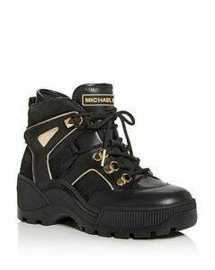 Michael Michael Kors Women's Brooke Platform Sneaker Booties
