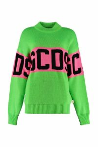 GCDS Long-sleeved Crew-neck Sweater